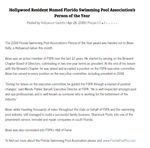Hollywood Gazette: Hollywood Resident Named Florida Swimming Pool Association's Person of the Year