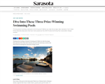 Sarasota Mag: Dive Into These Three Prize-Winning Swimming Pools
